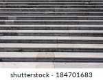 Marble Steps In Front Of A...