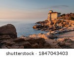Boccale Castle At Sunset From...