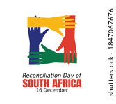 reconciliation day of south... | Shutterstock .eps vector #1847067676
