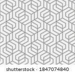 pattern with crossing thin... | Shutterstock .eps vector #1847074840