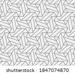 abstract geometric pattern with ... | Shutterstock .eps vector #1847074870