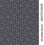 seamless linear pattern with... | Shutterstock .eps vector #1847074909