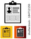 medical report   illustration | Shutterstock . vector #184712150