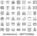 editable thin line isolated... | Shutterstock .eps vector #1847123866