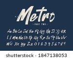 vector illustration grunge... | Shutterstock .eps vector #1847138053