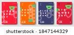vector illustrations. set of... | Shutterstock .eps vector #1847144329