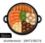 illustration vector isolated... | Shutterstock .eps vector #1847158276