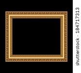 Golden Antique Frame For Your...