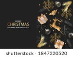 merry christmas and happy new... | Shutterstock .eps vector #1847220520