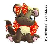 kitten | Shutterstock .eps vector #184722218