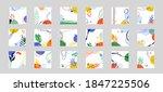 modern abstract cover set ...   Shutterstock .eps vector #1847225506