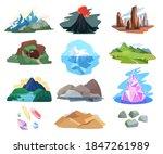 mountain landscape vector... | Shutterstock .eps vector #1847261989