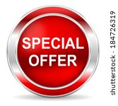 special offer icon | Shutterstock . vector #184726319