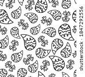 doodle paisley bandana seamless ... | Shutterstock .eps vector #1847292556