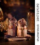 Chocolate Shake And Nuts...