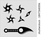 Ninja Tools Shuriken And Knife...