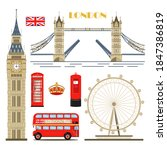 London Landmarks Vector Set....