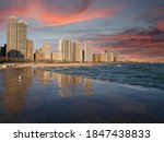chicago illinois lakefront... | Shutterstock . vector #1847438833