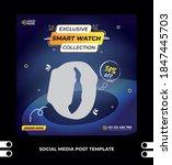social media square post...   Shutterstock .eps vector #1847445703
