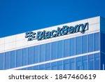 Blackberry Logo Sign On...
