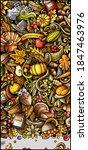 thanksgiving day doodle banner... | Shutterstock .eps vector #1847463976