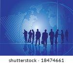 business people | Shutterstock .eps vector #18474661