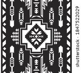 mexican seamless pattern. aztec ...   Shutterstock .eps vector #1847522029