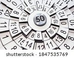 circles with numbers  abstract...   Shutterstock . vector #1847535769
