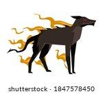 hell hound dark nightmare devil ... | Shutterstock .eps vector #1847578450
