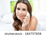 portrait of happy smiling... | Shutterstock . vector #184757858