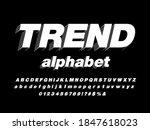 vector of stylized modern bold... | Shutterstock .eps vector #1847618023