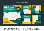 travel and tourism banner for... | Shutterstock .eps vector #1847624383