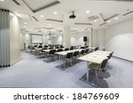 interior of a modern conference ... | Shutterstock . vector #184769609