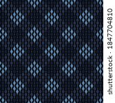 Monotone Pattern Royal Blue...