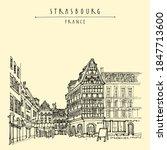 strasbourg  france  europe.... | Shutterstock .eps vector #1847713600