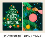 merry christmas nad happy new...   Shutterstock .eps vector #1847774326
