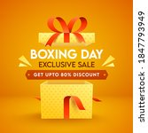 boxing day exclusive sale... | Shutterstock .eps vector #1847793949