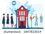 graduation  professional career ...   Shutterstock .eps vector #1847823019