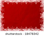christmas background in red | Shutterstock . vector #18478342