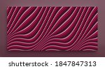 wavy dotted background with... | Shutterstock .eps vector #1847847313