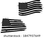 vector of the american flag  ... | Shutterstock .eps vector #1847937649