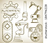 arm,auto,automation,background,bearing,belt,brown,business,computer,drawn,dynamics,engineering,equipment,factory,function