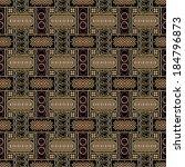 javanese batik seamless pattern ... | Shutterstock .eps vector #184796873