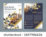 minimal geometric shapes design ...   Shutterstock .eps vector #1847986636