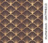 vector seamless pattern golden... | Shutterstock .eps vector #1847998213
