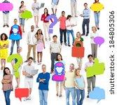 social media | Shutterstock . vector #184805306