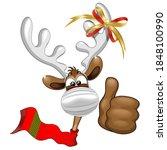 Reindeer Christmas Character...