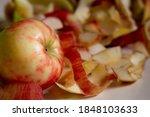 Honeycrisp Apple With Its...