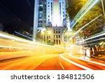 busy traffic in city   Shutterstock . vector #184812506