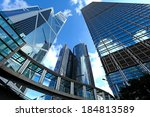 office building to sky | Shutterstock . vector #184813589